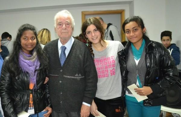 Festa dell'Atleta (il presidente Carmignani con le campionesse regionali)