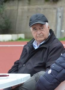 Il presidente Giuseppe Carmignani (POLISPORTIVA MESSINA)