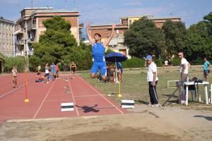 Gabriele Crisafulli (Atletica Villafranca) oro nel lungo