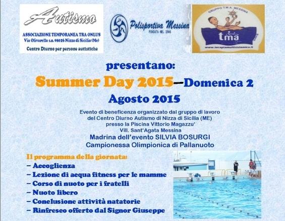 Locandina SUMMER DAY 2015