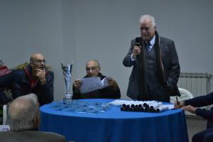 Il presidente Giuseppe Carmignani