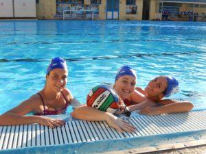 Jessica Antonuccio, Elisa Cannata e Tania Villari