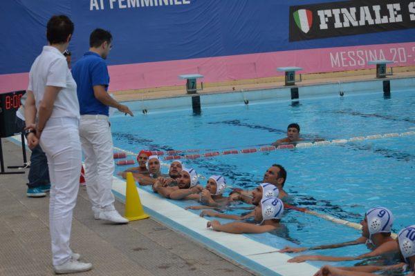 I giocatori della Polisportiva Messina