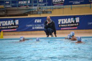 Time out chiamato dalla Polisportiva Messina