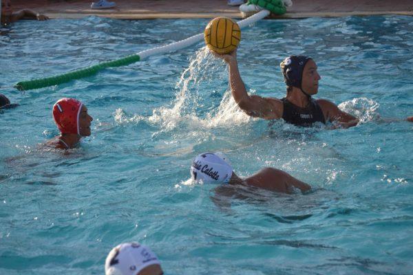 """Silvia Bosurgi alla piscina """"Magazzù"""""""
